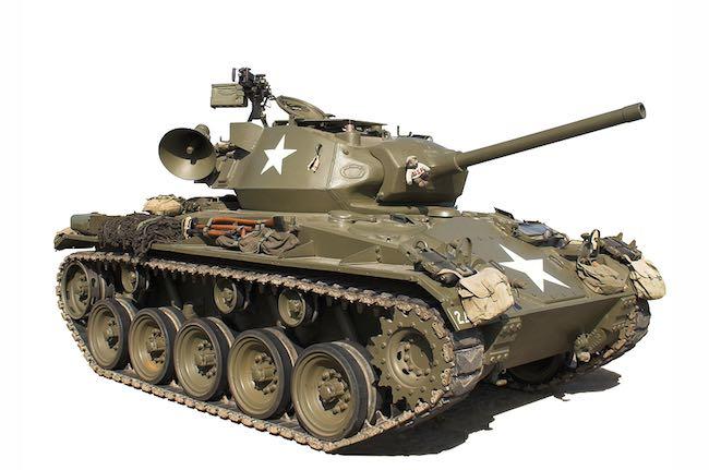 Colorado Springs Military Bases tank